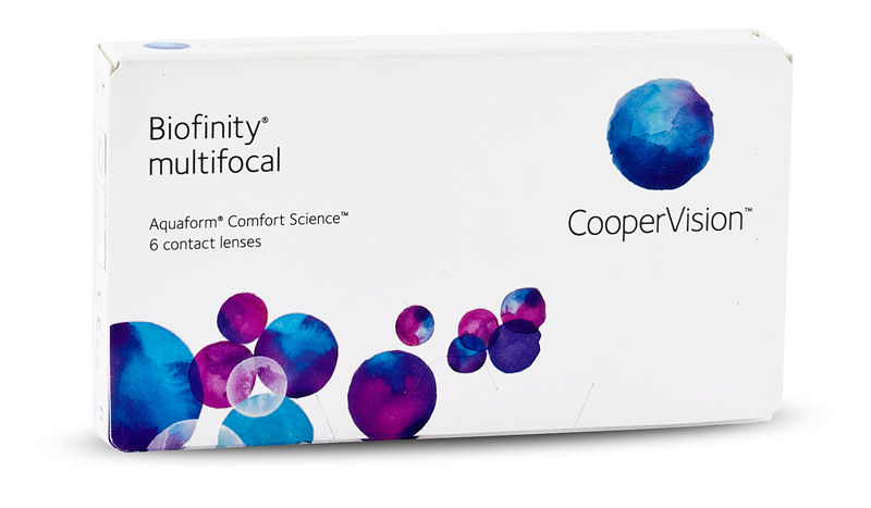 Biofinity Multifocal 6/box