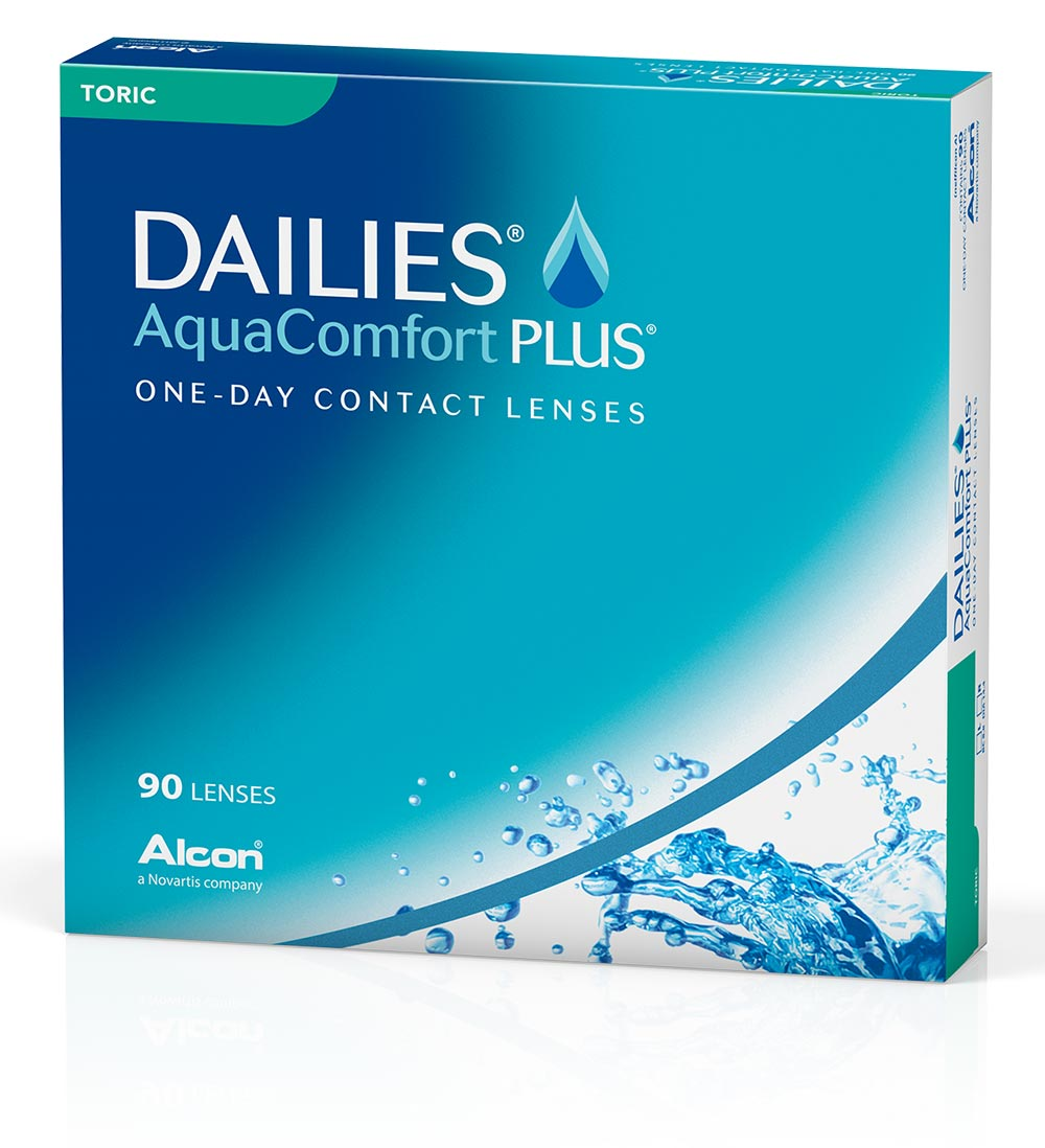 DAILIES AquaComfort Plus Toric 90box
